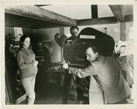 image of Hour of the Wolf [Vargtimmen] (Original still photograph from the set of the 1968 film)