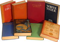 A COLLECTION OF EIGHT OF HIS BOOKS: White Tiger; Barbry; The Siamese Cat; and more