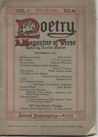 POETRY: A MAGAZINE OF VERSE