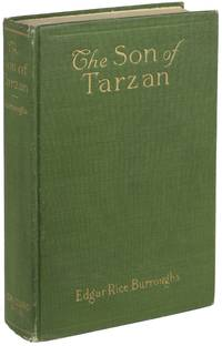 THE SON OF TARZAN by  Edgar Rice Burroughs - First edition, later (probable second) printing with W. F. Hall  - 1917 - from John W. Knott, Jr., Bookseller, ABAA/ILAB (SKU: 25488)