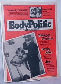 The Body Politic: a magazine for gay liberation; #50, February 1979:Busting Up the Baths