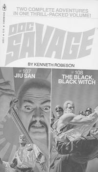 Doc Savage: Jiu San #107 and The Black, Black Witch #108