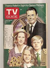 image of Tv Guide Oct. 11 1975 Vol. 23 No. 41 Issue #1176 [there's Relief In Sight  For Series Pitchers / The Family Holvak]