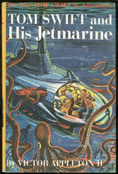 TOM SWIFT AND HIS JETMARINE, Appleton, Victor