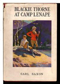 BLACKIE THORNE AT CAMP LENAPE.