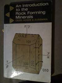 An Introduction to the Rock Forming Minerals by  J Zussman - Paperback - from World of Books Ltd and Biblio.com