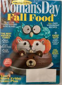 Woman's Day Magazine November 2018 | Fall Food