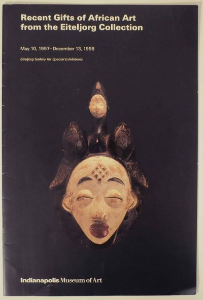 Indianapolis, IN: Indianapolis Museum of Art, 1998. First edition. Softcover. 12 pages. Exhibition c...