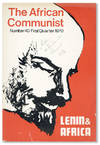 image of The African Communist (Quarterly). No. 40 - First Quarter 1970