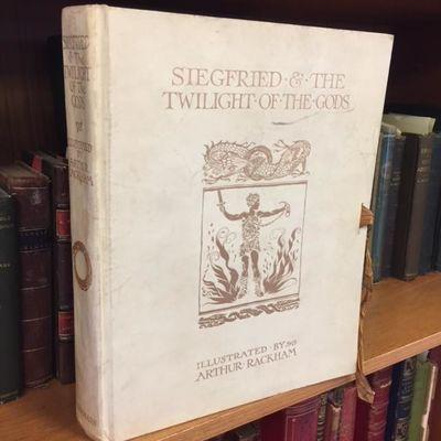 London: Heinemann, 1911. Limited Edition. Hardcover. Quarto; VG-; Vellum binding; Silk ties to front...