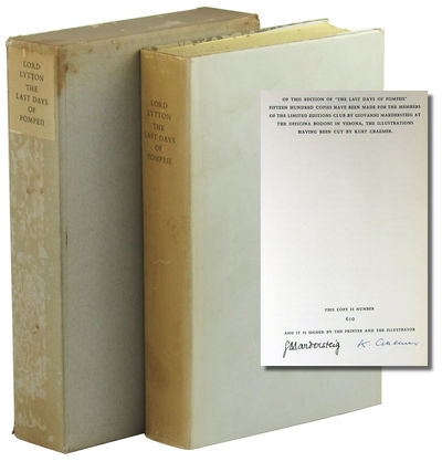 NY: Limited Editions Club, 1947. Hardcover. Very good. #610 of 1500cc signed by the printer and illu...