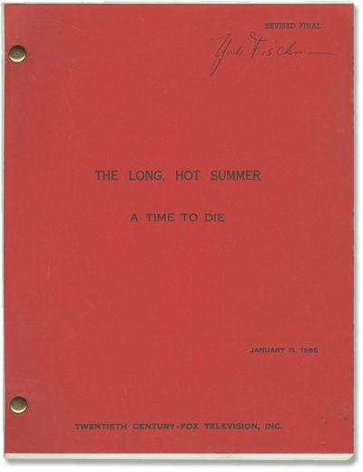 Los Angeles: Twentieth Century-Fox Television, 1966. Revised Final Draft script for the 21st episode...