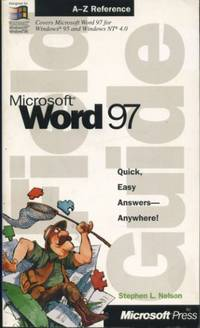 image of Microsoft Word 97 Field Guide