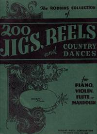 image of 200 Jigs, Reels and Country Dances