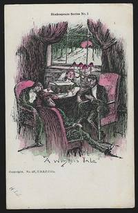 VINTAGE UNDIVIDED SHAKESPEARE COMIC POSTCARD, A WINTER'S TALE