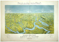Panorama of the Seat of War: Bird's Eye View of Kentucky and Tennessee Showing Cairo and Part of the Southern States