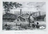 Cases du Paha (Village) de Kororareka (Nouvelle Zelande)