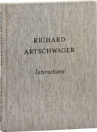 image of Richard Artschwager: Interactions (First Edition)