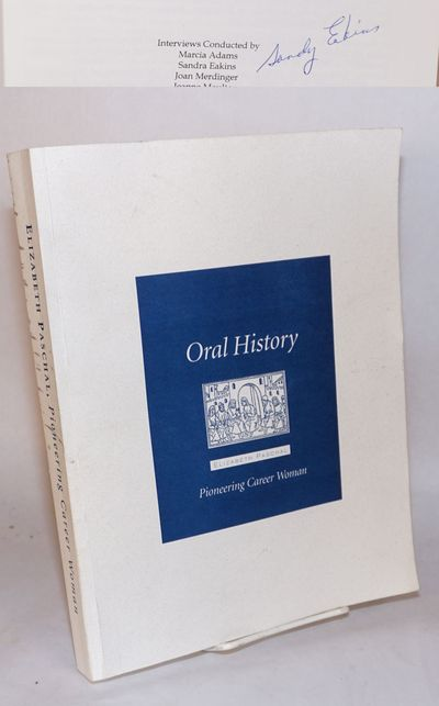 Berlekely: Regional Oral History Office, The Bancroft Library, 1996. Paperback. 328p., wraps, 8.5x11...