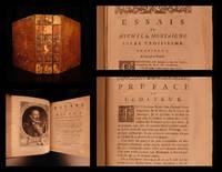 Les essais : de Michel Seigneur de Montaigne. Nouvelle edition, faite sur les plus anciennes & les plus correctes : augmentée de quelques lettres de l