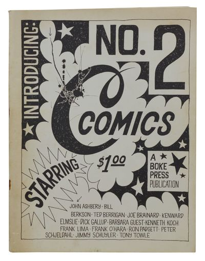 New York: Boke Press, 1965. First Edition. Very Good. First edition. 4to. Stapled wraps. The second ...