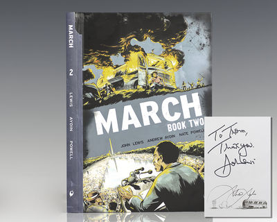 Marietta: Top Shelf Productions, 2015. First edition of the second book in John Lewis and Andrew Ayd...