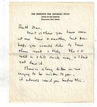 image of Presentation Copies to Ruth Tolman of : THE OPEN MIND and SCIENCE AND THE COMMON UNDERSTANDING [ together with ] a Handwritten Note