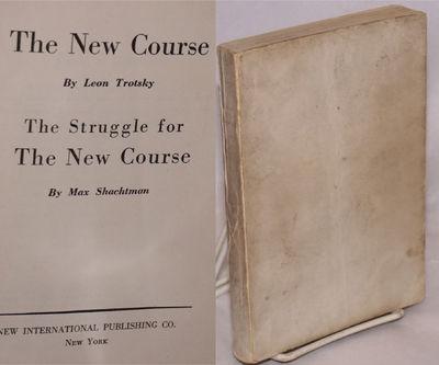 New York: New International Pubishing Co, 1943. 265p., blank white wraps worn and soiled, rubberstam...