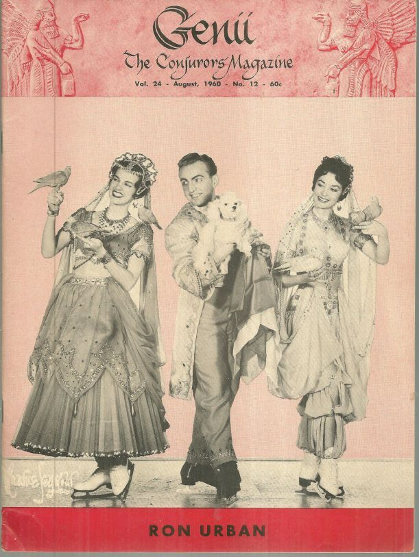 Image for GENII THE CONJURORS' MAGAZINE AUGUST 1960