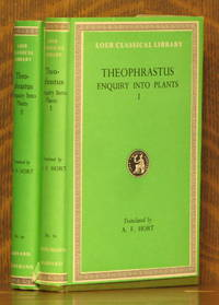 THEOPHRASTUS - ENQUIRY INTO PLANTS I & II - Loeb Classical Library LCL 70 & 79  [2 VOLUMES COMPLETE]