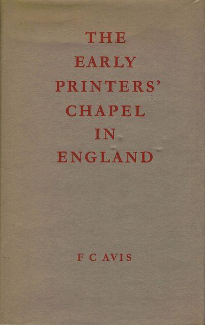 London: F.C. Avis, 1971. First edition. Hardcover. Orig. crimson cloth. Fine in fine dust wrapper. I...