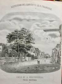 [Print] Recuerdos del Convento de S. Francisco. Calle de la Independencia. Polka Mazurka
