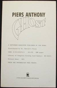 image of Ghost [Uncorrected Page Proofs]