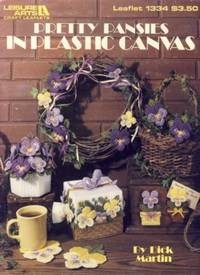 Pretty Pansies in Plastic Canvas Leaflet 1334