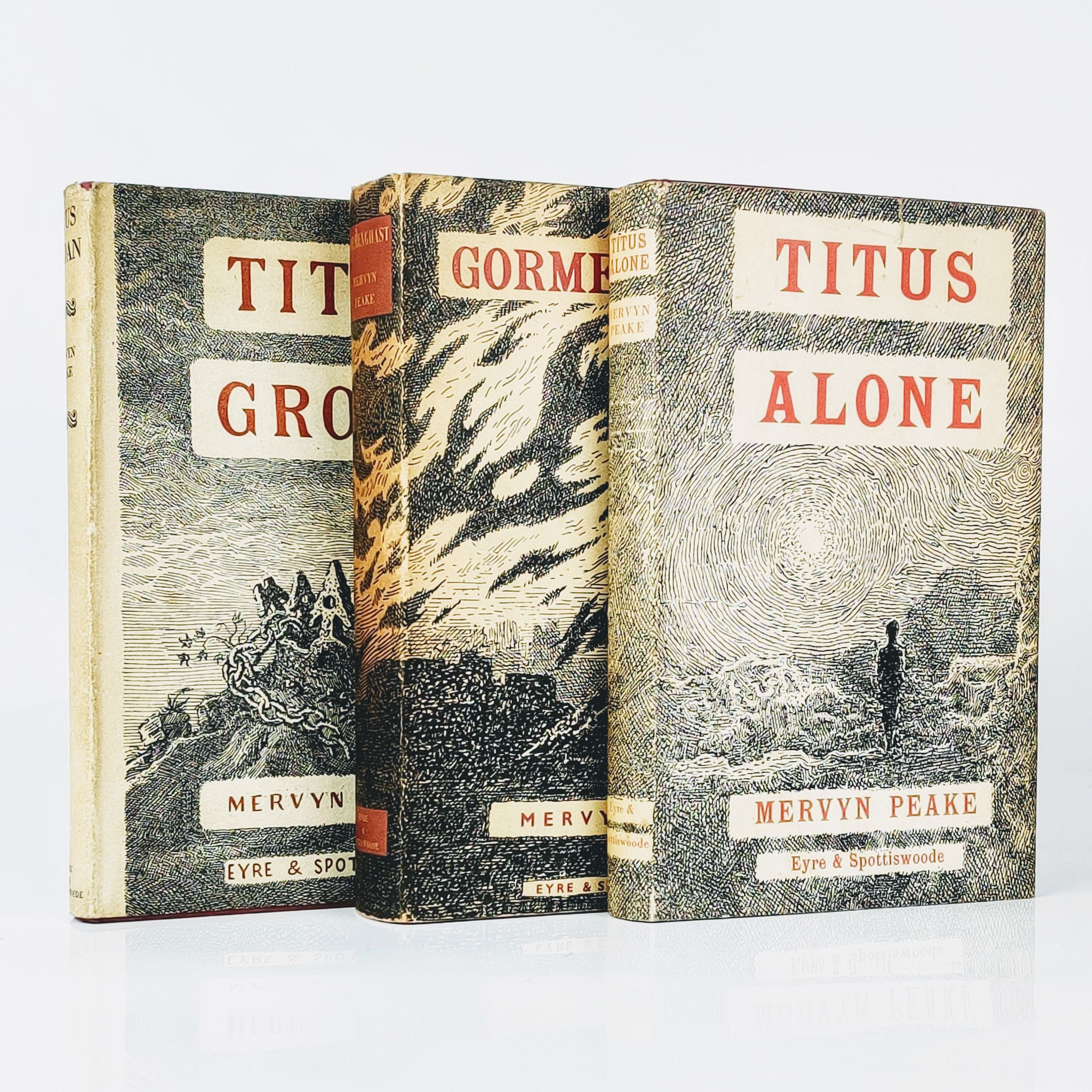 The Gormenghast Trilogy: Titus Groan, Gormenghast and Titus Alone (photo 1)
