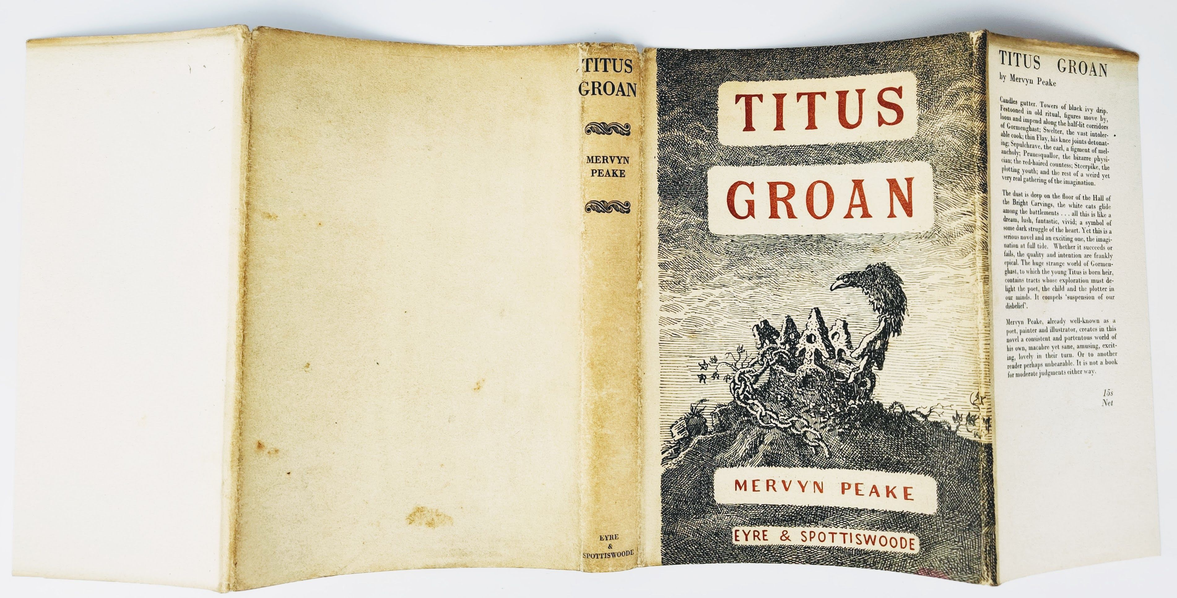 The Gormenghast Trilogy: Titus Groan, Gormenghast and Titus Alone (photo 3)