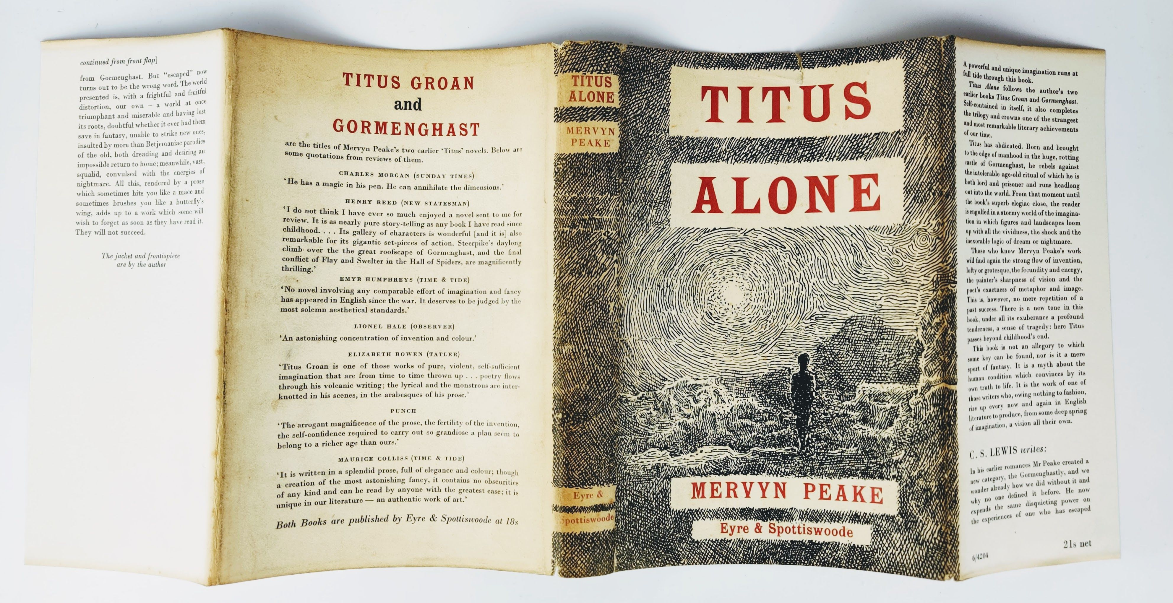 The Gormenghast Trilogy: Titus Groan, Gormenghast and Titus Alone (photo 4)