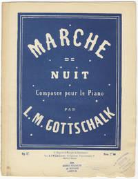 [D-89; Op. 17]. Marche de nuit ... Prix 7f. 50