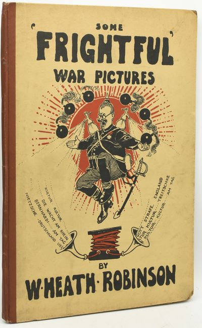 London: Duckworth, 1916. Second Printing. Pictorial Boards. Very Good binding. In pictoral paper-cov...