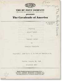 image of The Cavalcade of America: A Tooth for Paul Revere (Original script for the 1948 radio broadcast)