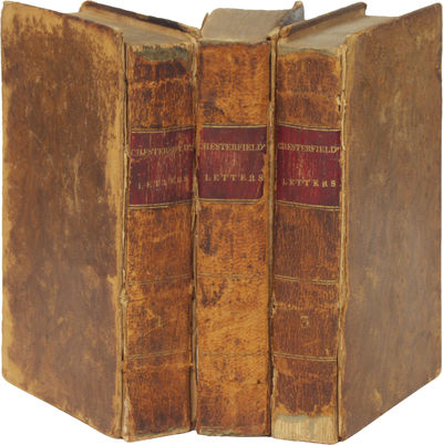 New York: C. A. Hinkley, 1824. Hardcover. Good. First edition. Three volumes. Owner name, foxing, mi...