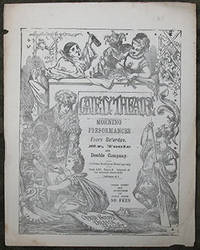 The Gaiety Programme. 9 Programmes from 1869 - 1879.