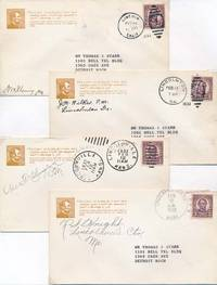 Group of Six Postal Covers