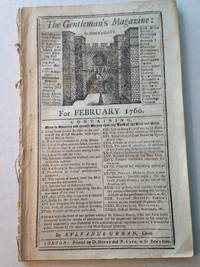 The Gentleman's Magazine For February 1760.