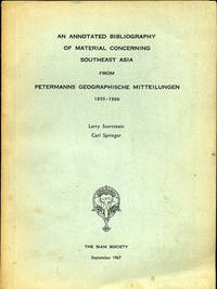 An Annotated Bibliography of Material Concerning Southeast Asia from Petermanns Geographische Mitteilungen 1855-1966
