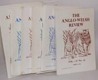The Anglo-Welsh review; Vol. 10: no. 26. Vol. 14: nos. 33, 34. Vol. 15: nos. 35, 36. Vol. 16: no. 37 [small broken run, 7 unduplicated items together]