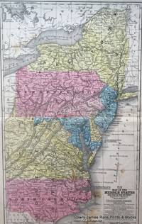 No 11.  Map of The Middle States and part of the Southern [States]