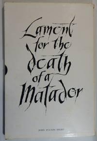 Lament for the Death of a Matador