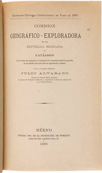 [SAMMELBAND OF FIVE PAMPHLETS REPORTING THE WORK OF THE GEOGRAPHICAL EXPLORATION COMMISSION IN MEXICO]