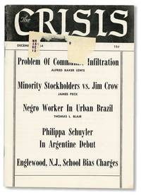 The Crisis. A Record of the Darker Races. Vol 61, no 10 (December 1954) by [NAACP] IVY, James W. (ed) - 1954